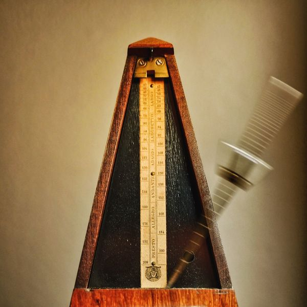 As Time Goes By Metronome Symmetry Symmetrical Blurred Motion Triangle Pace Music Old Old Technology Vintage Time Rhythm Rhythmic Showcase: February Fine Art Photography Pivotal Ideas Lieblingsteil