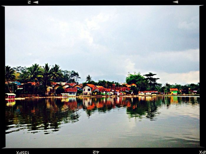Lake View Village Life West Java,Indonesia Lovely Weather Peace And Quiet Once Upon A Time