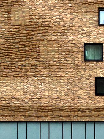 Mauerwerk. Architecture Brick Wall Built Structure No People Building Exterior Outdoors Day Surface Berlin Nhow Berlin Architectural Column Surfaces And Textures Architecture_collection Adapted To The City Fine Art Photography Graphic Close-up Osthafen Walls Window Structure Lines Façade Facades TCHOBANVOSS