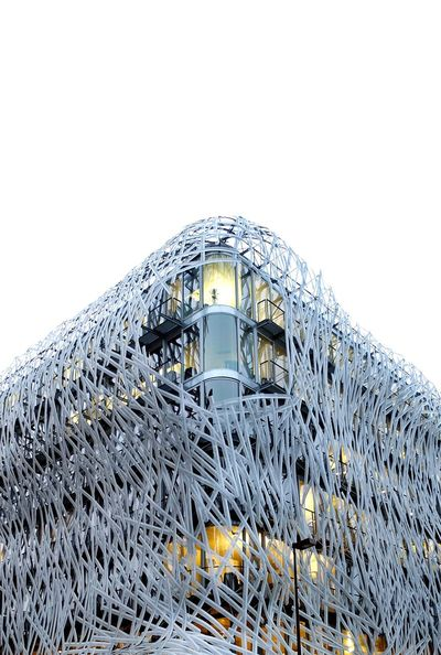 Building AMPt - Angles Angles And Lines Façade Street Corner Corner Architecture Architecture_collection Architectural Detail Architecturelovers Architectureporn Manny Nantes Naoned