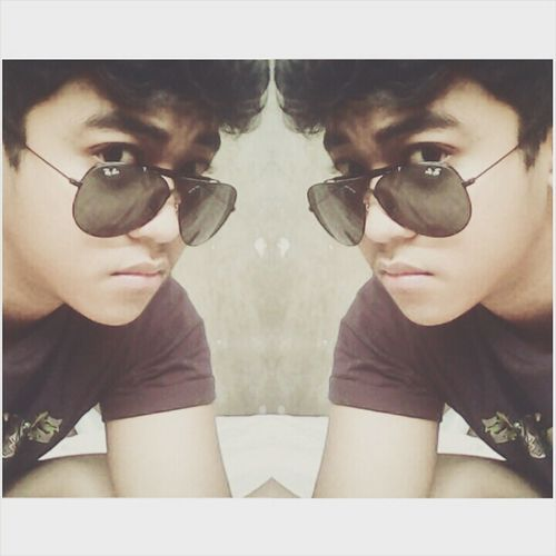Shades on. Ignore the World. B-) =))