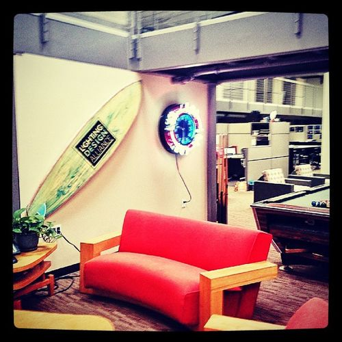 Light Design Alliance Lightingdesignalliance rest area!! So much fun!! iescon iescon ep