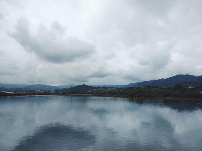 Asturias Tree Lake Cityscape