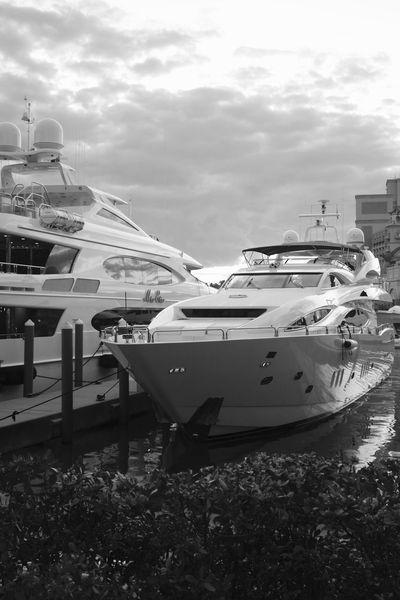The yacht life Bahamas 45201 Bahamas Luxurylifestyle  Outdoors Yachting Travel Luxury Danieljpiraino Atlantis Bahamas Atlantis, Bahamas.  Yacht Boat Blackandwhite Yachts