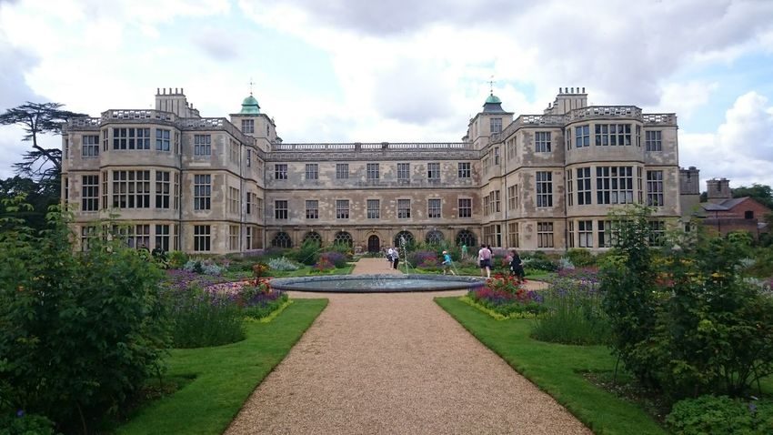 Audley End Building Exterior Architecture Fountain