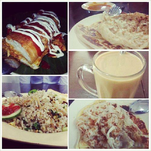 Our lunch earlier on @triciazayn @aaaaamos @jaexin94 Xinyi Aloysius YumYum Malayfood lunch