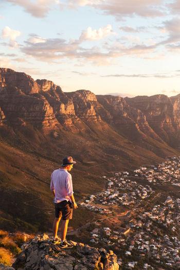 Adventure Adventurer Cape Town Cape Town, South Africa Explore Explorer Lion's Head South Africa Sunset Table Mountain Travel Destinations Travel Photography