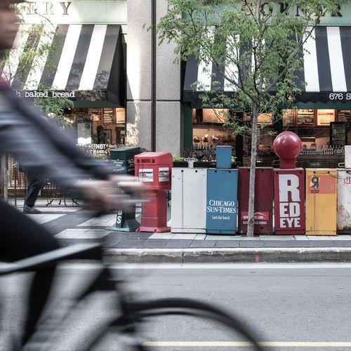 Bike Street Streetphotography Blur Mailbox Colorful Nikon