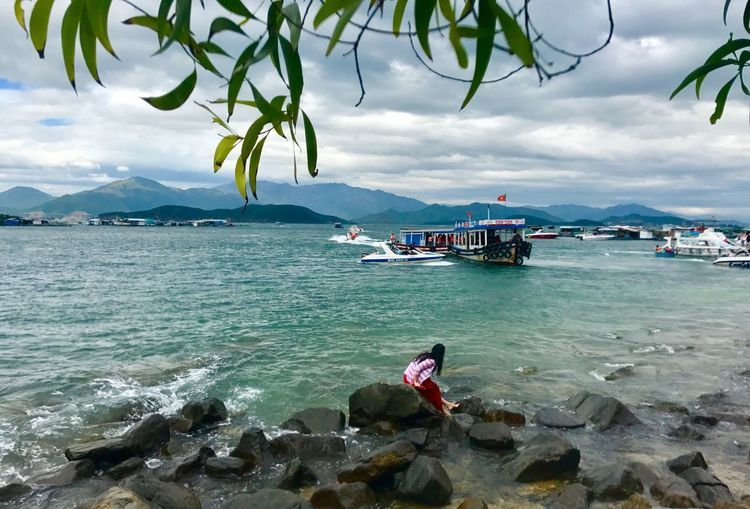 Vietnam, Nha Trang Sea Beauty In Nature Beach Tranquility Tranquil Scene