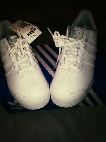 got them adidas on deck #adidas #swag #samba #white #matches #with #anything