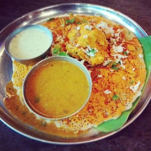 "Bangalore special "" Open Dosa"""