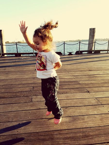 In Motion Jumping By The Bay MyBabyGirl  Love Is In The Air