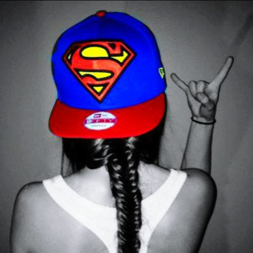 Spring Supermann Cap Ilovesuperman Fishtail  💕💕💕