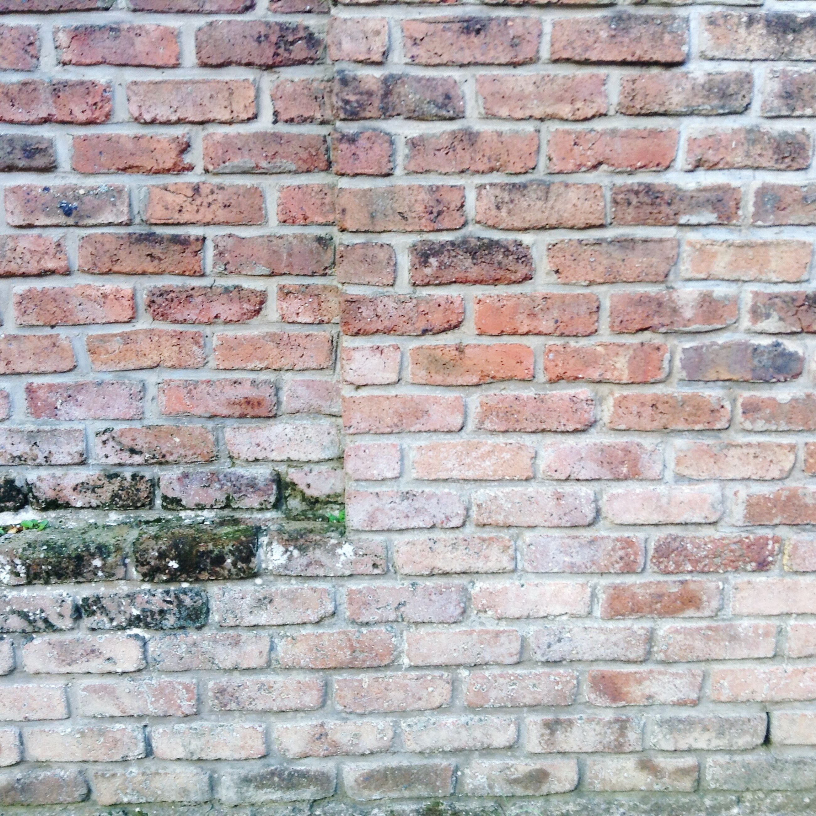 brick wall, wall - building feature, built structure, full frame, building exterior, no people, architecture, backgrounds, outdoors, textured, day, close-up