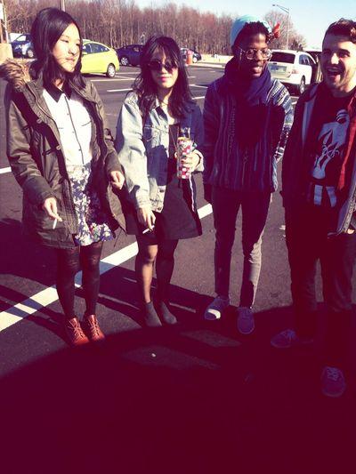 My band CHIMES minus one.