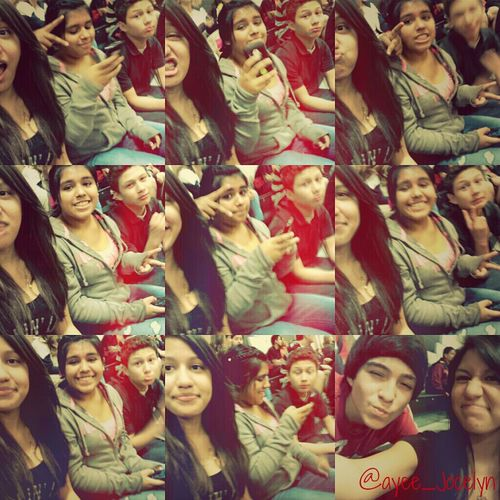 We look cutee c;