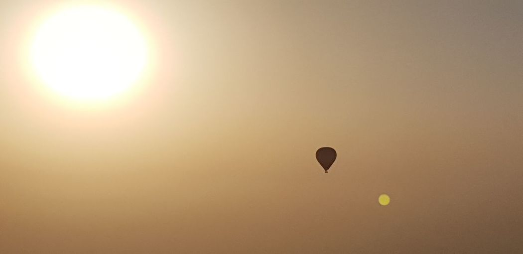 Hot Air Balloon Parachute Flying Ballooning Festival Paragliding Sunset Sport Adventure Mid-air Sun