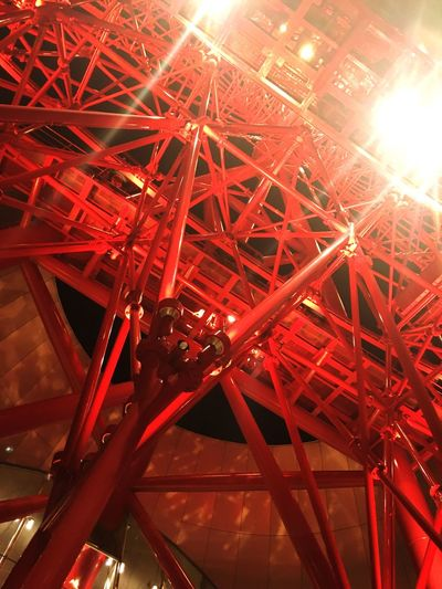 OSAKA Ferris Wheel HEP FIVE Red Light