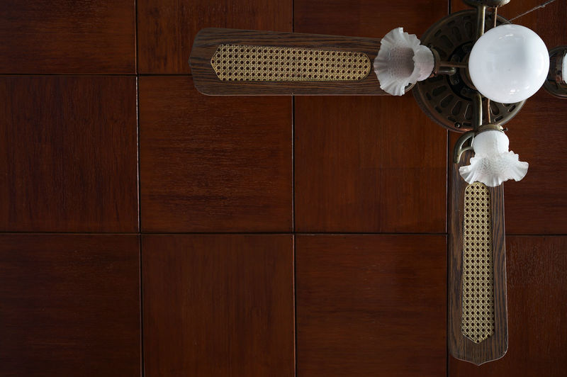 Ceiling Fan Ceiling Lights No People Wood - Material Wood Paneling Pattern Rule Of Thirds