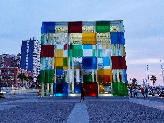 Centre Pompidou Malaga Málaga,España SPAIN