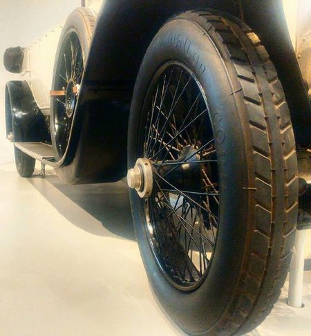 Transportation Mode Of Transport Wheel Tire Car Close-up Land Vehicle No People Stationary Day Outdoors Spoke Technikmuseum Technology Berlin