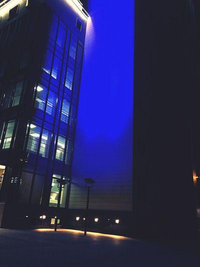 Building Exterior Night Dark