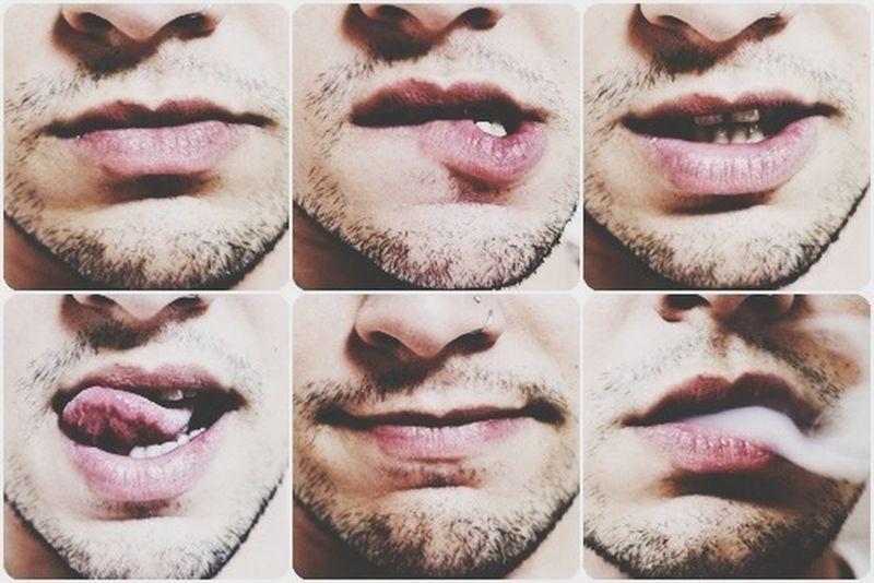 Lips Sexy Lips Mouth Gay Boy