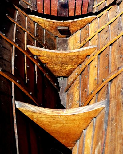 Hand built boat Angles And Shapes Nautical Theme Nautical Vessel Boatshop Waterfront Boat Out Of Water Rustic Beauty Textures And Shapes Boats Boat Restoration Boat Repairs And Restoration