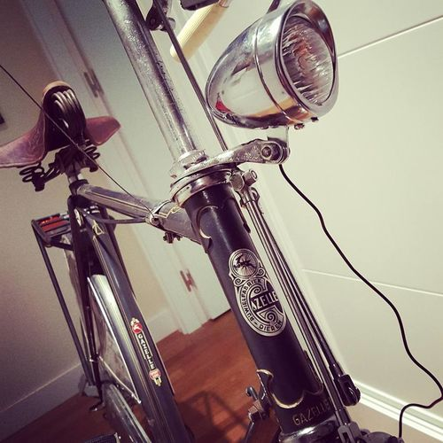 Gazelle Sport Luxe 1962 full restoration. #bi-king.es #bicycle #bicycle #space #hello World #Gazelle #retro #vintage
