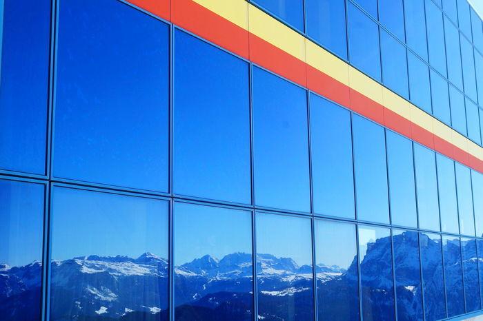 Spieglein, Spieglein... 😉 Architecture Südtirol Alto Adige Plan De Corones Kronplatz EyeEm Gallery EyeEm Best Shots EyeEm Nature Lover EyeEmBestPics Eyeemphotography Architecture Spiegelung Spiegelungen