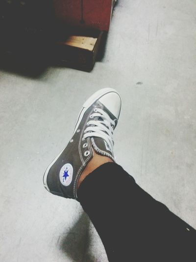 always feeling fresh with a pair of Allstar converse