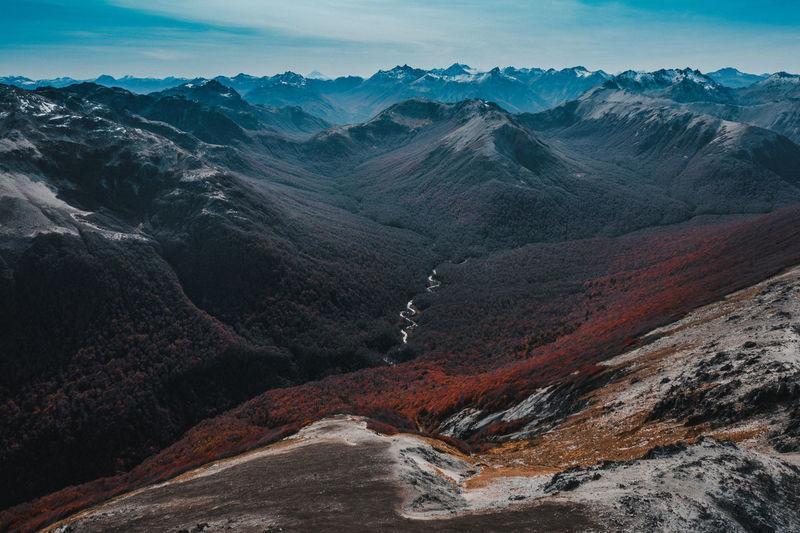 Autumn in patagonia