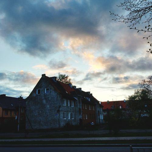 No People Architecture Cloud - Sky Built Structure Building Exterior Sunset Sky Day Outdoors Colour Your Horizn