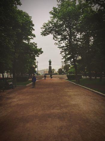 Walking Around Gogol Bulevar   Green Street City Russian Writer Moscow Relaxing