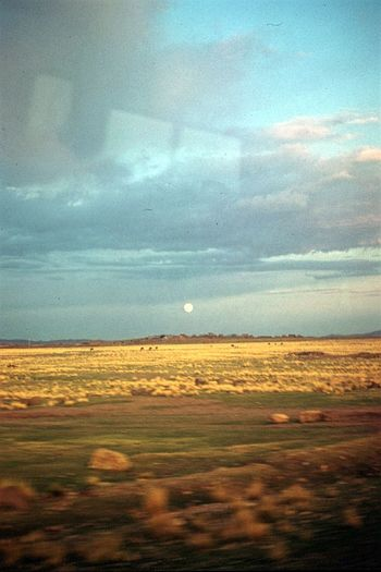 On The Way From The Bus Arequipa to Puno Peru Photography In Motion Full Moon Travel Photography Landscapes Landscape Reflections In The Glass Windows Sky And Clouds From The Bus Window Old Travel Tourism Latin America An Eye For Travel This Is Latin America