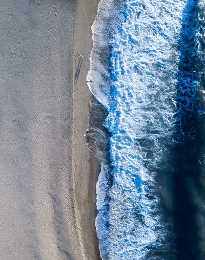 🌊🌊 Sand Japan People Nature_collection EyeEm Nature Lover EyeEmNewHere EyeEm Best Shots EyeEm Tranquility Travel Destinations Travel Beauty In Nature Drone  Ocean Sea Wave Blue Pattern Water Glass - Material Day No People Outdoors Motion Wet Close-up Backgrounds Nature Abstract Textured