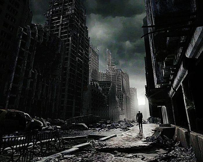 City Ciudad Darkness Oscuridad Apocalypse Apocalyptica Apocalyptic Ruins Ruinas Apocalipsis Soledad Alone