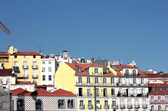 Hello World Lisbon, Portugal Old Architecture Beautiful View Oldtown Eye For Details Exploring Old Building  Sunny Streetphotography In Lisbon, Portugal