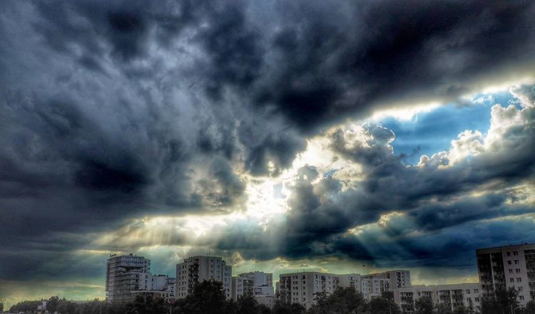 Weather Dramatic Sky Storm Sunset Outdoors Hdr_captures Hdroftheday Warszawa  Warsaw Polska Poland