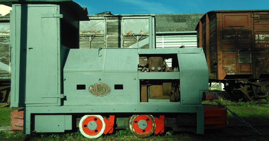 Gare Locomotive No People Puisaye Toucy Toucytourisme Train Trains Transport Transpoyaudin Yonne