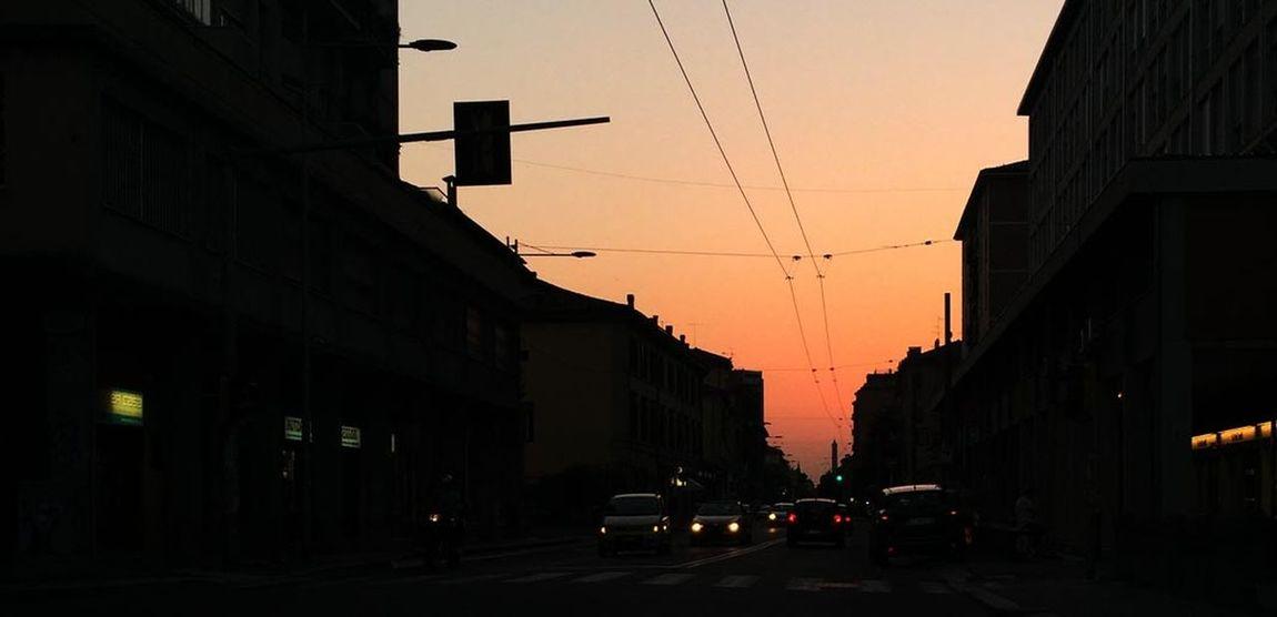 Bologna Tortellini Bolognesi City Road Street Sunset First Eyeem Photo