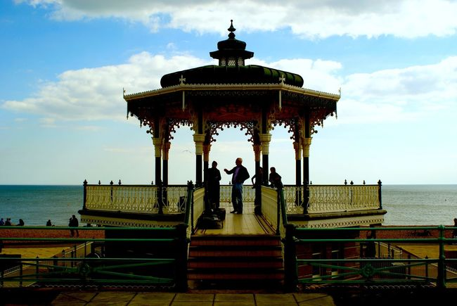 Bandstand Brighton Brighton Beach King's Road Lockwood Sea Front Seaside Victorian Architecture Wedding Locations