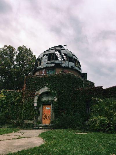 Abandoned Places Abandoned Observatory Cleveland