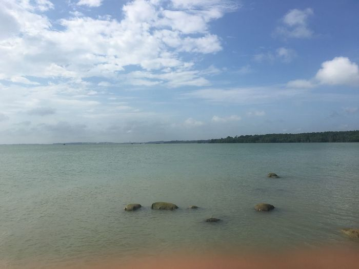 sea Scenics Sky Tranquility Tranquil Scene Cloud - Sky Outdoors Horizon Over Water