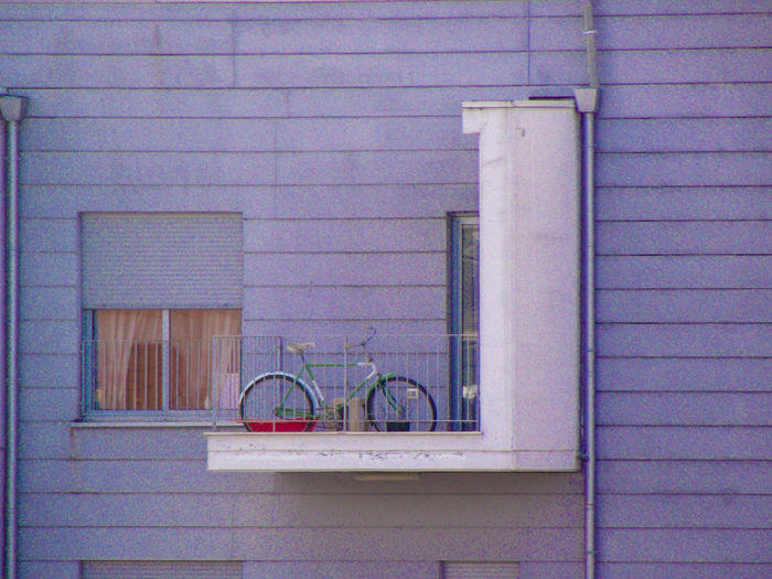Bicycle in balcony