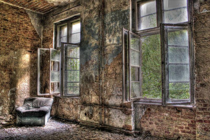 Alte Gemäuer Beelitz Beelitz Heilstätten Brandenburg Grabowsee Grabowsee Heilstätte Ruinen Verfall