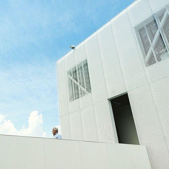 Architecture White Minimalism Face Mouth Milan Expo2015 SolitaryMan