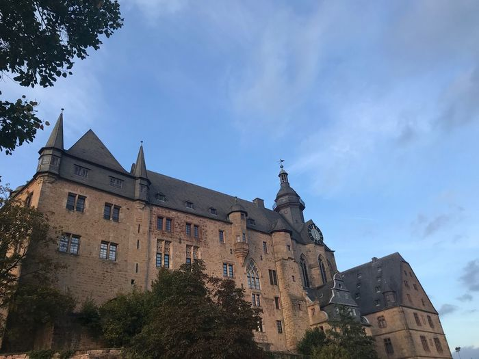 Marburg Castle Eyem Best Shots Eye4photography  EyeEm Best Shots EyeEmBestPics EyeEm Best Shots - Nature Architecture Built Structure Building Exterior Sky Building Low Angle View Tree