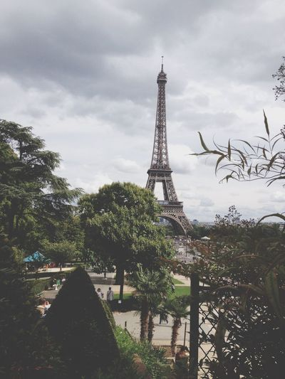 Depuis le Trocadéro ?