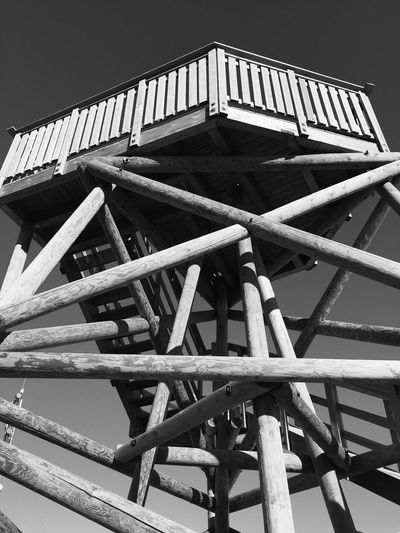 Wood - Material Built Structure No People Outdoors Low Angle View Blackandwhite Black & White Blackandwhite Photography Black And White Saariselkä, Finland EyeEmNewHere Lapland, Finland Low Angle View